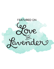love & lavendar blog feature